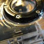 9. Blend some epoxy and glue the ring around the GoPro lens.